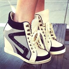 cute [sneaker wedges]