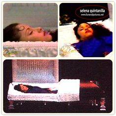 selena funeral pics