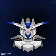 #gundam #vector #mobilesuit #mecha #plamo #gunpla #hobby #ironblooded #ironbloodedorphans #tekkadan #bael Gundam Bael ASW-G-01