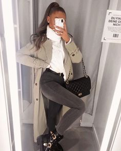 The Chic Fashionista Casual Winter Outfits, Winter Fashion Outfits, Classy Outfits, Look Fashion, Stylish Outfits, Fall Outfits, Womens Fashion, Fashion Drug, Fashion Clothes