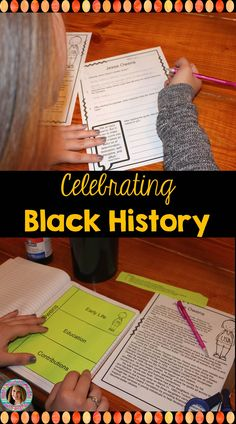 Celebrate Black History Month with this mini-unit. This supplemental resource included eight biographical readings, discussion questions with a quote for thought for each reading, and a page for each reading to use in an Interactive Notebook.  -Right Down the Middle with Andrea