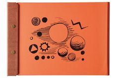 Snap Pad A4 for Calder Foundation, Tangerine.<br>スナップパッドA4 for カルダー財団、 タンジェリン