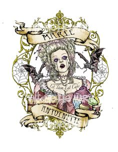 I like this but maybe not quite so macabre since it will be with the other Marie tattoo.