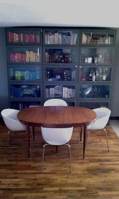 Metal Barrister Bookcase Glass Front Cabinets, Cupboards, Barrister Bookcase, Sewing Room Storage, Steel Cabinet, Cupboard Storage, Living Room Decor, Living Rooms, Bookshelves