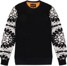Serge DeNimes - Snowflake Arm Sweatshirt on shopstyle.co.uk