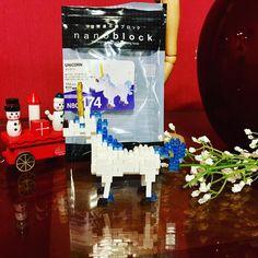 #unicorn lego 👍🏻🌈🦄 thank you @_gambit71_ !!!! #buddyBox #christmas #puzzle #nanoblock