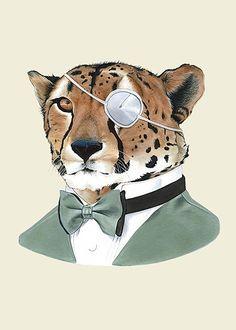 weird animal art. love.