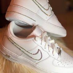 Nike Shoes & Brand New Custom Nike Air Force 1 The post Nike Shoes Sneakers Fashion, Fashion Shoes, Sneakers Nike, Tomboy Outfits, Basket Style, Nike Shoes Air Force, Baskets, Cute Nikes, Aesthetic Shoes