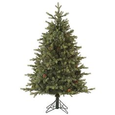 Vickerman 32786  9 x 77 Rocky Mountain Fir with Pine Cones Christmas Tree A145780 * You can find more details by visiting the image link.