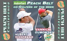 Co-Men's Golfers of the Week: Hubert Tisserand, USC Aiken & Yannick Gumowski, Columbus State
