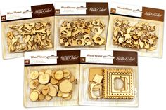 WOOD DIE CUT MEGA PACK FROM STUDIO CALICO.  ONLY $7.99 regularly $23 at www.peachycheap.com!