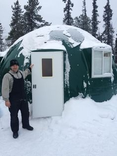 Yukon College: Growing food security in the North Tiny House Cabin, Tiny Houses, Food Security, Dome House, Second World, Recreational Vehicles, Cabins, Outdoor