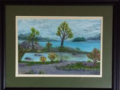 Path to Rife Lake, Watercolor by Barb Savary, 2015