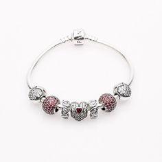 Forever In My Heart Starter Bracelet By Pandora Jewelry at WilkinsandOlander.com