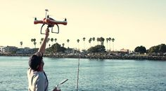 AguaDrone Waterproof Drone Equipped With Fish Finder