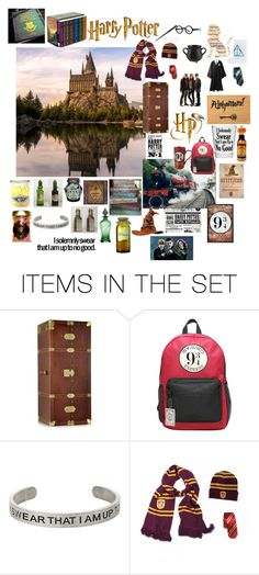 """The World Of Harry Potter"" by patchworkcrafters ❤ liked on Polyvore featuring art"