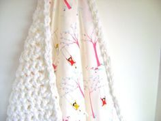 Crocheted Reversible Baby Blanket Pattern by Creative Design | Project | Crochet | Home Decor / Kids & Baby | Blankets & Afghans | Kollabora