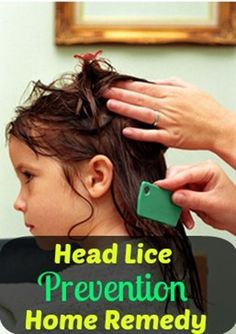 Head Lice Prevention Home Remedy