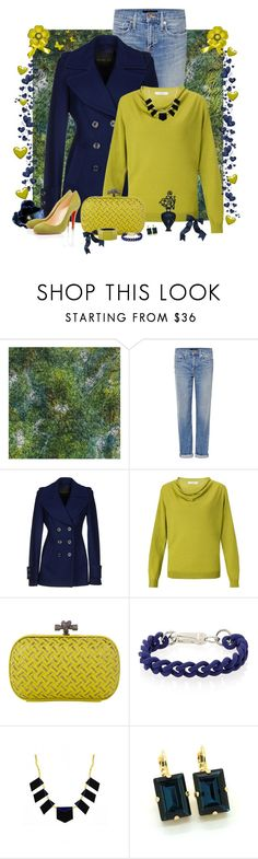 """Casual Sunday"" by cindy-for-fashion ❤ liked on Polyvore featuring Designers Guild, Genetic Denim, Rachel Zoe, John Lewis, Bottega Veneta, House of Harlow 1960, Marni and Christian Louboutin"