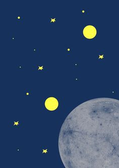 Gotta love the moon by OliviaInTheWild on Etsy