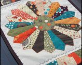 quilted table runner on etsy