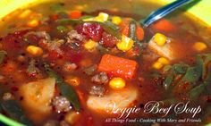 Cooking With Mary and Friends: Veggie Beef Soup