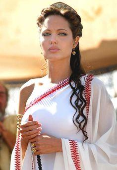 """Angelina Jolie en """"Alejandro Magno"""", 2004"""