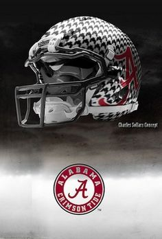 could be Bama's next helmet....love it!!