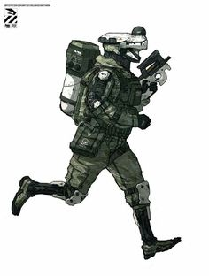 Drone soldier