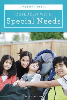 Here are some tips and tricks from around the web for traveling with special needs kids.