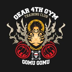 Shop Gear Gym one piece t-shirts designed by breo as well as other one piece merchandise at TeePublic. One Piece Manga, One Piece Series, One Piece Drawing, One Piece Logo, One Piece Tattoos, Monkey D Luffy, Kaido One Piece, One Piece Zeichnung, Ace Logo