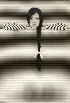 Nancy Sheung aka Sheung Wai-chun 常惠珍 (Chinese, 1914–1979, b. Suzhou, China) - 1: The Long Haired Girl, c. 1960s.