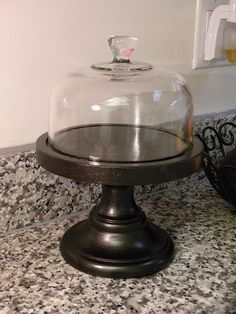 I have the same cheese dome used in this project -- picked up from Goodwill