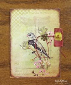 Nature Memory Journal Page: Wings to Fly