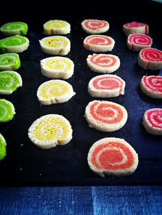 Paleo Pinwheel Cookies (Egg/Sugar/Grain/Gluten Free) With directions to make 12 different flavors. | Brittany Angell