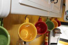 good RV kitchen storage ideas.