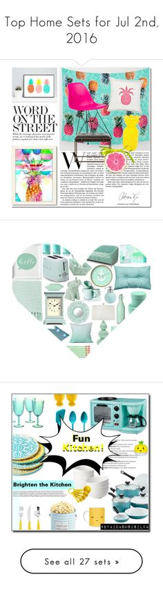 """""""Top Home Sets for Jul 2nd, 2016"""" by polyvore ❤ liked on Polyvore featuring interior, interiors, interior design, home, home decor, interior decorating, Home, polyvoreeditorial, Poste and Surya"""