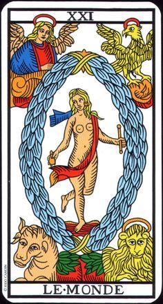 Arcane XXI : Le Monde - Tarot de Camoin & Jodorowsky.