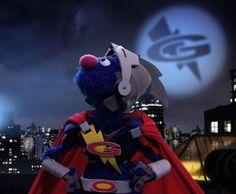 Super Grover to the rescue!!