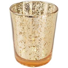 "Just Artifacts (Bulk) Mercury Glass Votive Candle Holder 2.75""H (100pcs, Speckled Gold) - Mercury Glass Votive Tealight Candle Holders for Weddings, Parties and Home Décor. For product & price info go to:  https://all4hiking.com/products/just-artifacts-bulk-mercury-glass-votive-candle-holder-2-75h-100pcs-speckled-gold-mercury-glass-votive-tealight-candle-holders-for-weddings-parties-and-home-decor/"