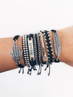 Pura Vida Bracelets, Cute Bracelets, Ankle Bracelets, Bangles, Cute Jewelry, Boho Jewelry, Jewelery, Fashion Jewelry, Hand Bracelet