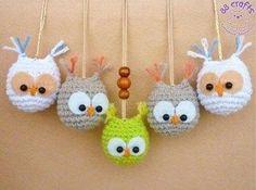 amigurumi owl crochet pattern