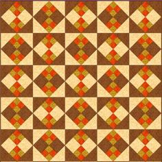 Improved Four-Patch Quilt Block Pattern: Make an Improved Four Patch Quilt