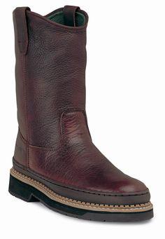 "Men's 9"" Steel Toe Wellington Work Boots - Georgia Boot - Style #G4374 - $123.99"