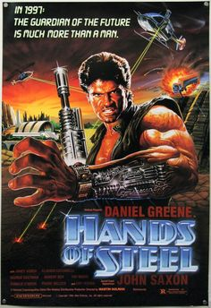 HANDS OF STEEL poster