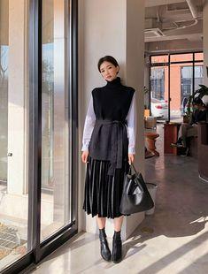 [CHUU] Fancy Velvet Pleats Skirt The clothing culture is fairly old. Muslim Fashion, Kpop Fashion, Modest Fashion, Hijab Fashion, Girl Fashion, Boho Fashion, Style Fashion, Fashion Tips, Korean Outfits