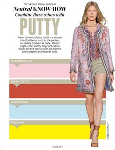 Putty color chart @Anna Lynch