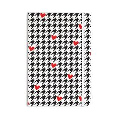 "Empire Ruhl ""Spacey Houndstooth Heart"" Everything Notebook"