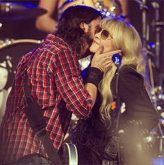 Dave Grohl and Stevie Nicks at 'the last' performance of the Sound City Players at SXSW - Austin, TX 3-14-13