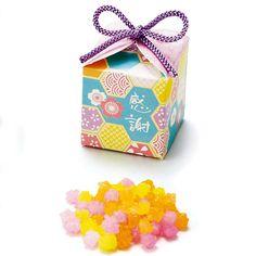 和小物net|小物で彩る和ウェディング / 和風プチギフト『祝い桜 (単品)』 Food Packaging, Brand Packaging, Packaging Design, Matcha, Japanese Design, Typography Logo, Decorative Boxes, Gift Wrapping, Branding